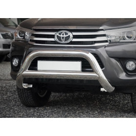 Hilux Buffalo Shield - Inox - CE-approved - (Revo 2016 to 2019)