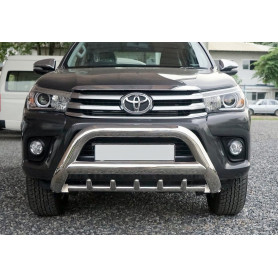 Hilux Buffalo Shield - Enhanced Inox - CE Approved - (2016 to 2019)