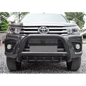 Hilux Buffalo Shield - Black Inox - CE Approved - (Revo 2016 to 2019)