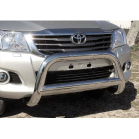 Hilux Buffalo Shield - Inox - CE-approved - (2005 to 2015)