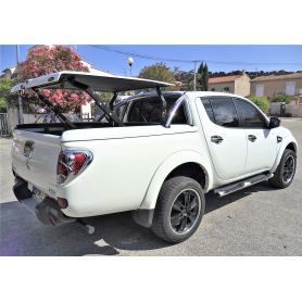 Cover Benne L200 - Multiposition - Roll Bar Inox - (2010 to 2015)
