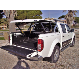 Cover Benne Navara - Multiposition - Roll Bar Inox - (Double Cabin)
