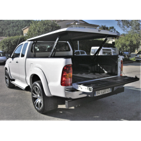 Cover Benne Hilux - Multiposition - (Extra Cabin from 2005 to 2015)