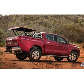 Couvre Benne Hilux - Multiposition + Roll Bar - (Double cab à partir de 2016)