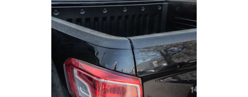 Protections Ledges of Ssangyong Musso Dumpster