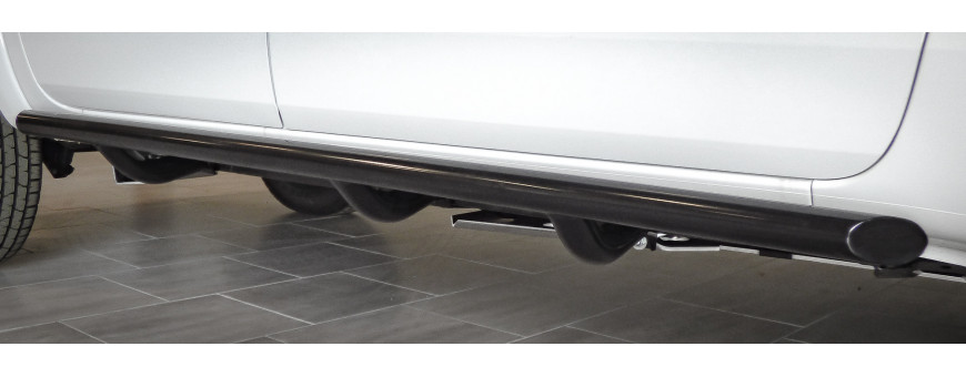 Ford Ranger Vehicle Rocker Panel Protection Bars