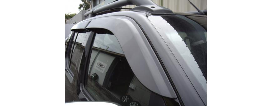 Nissan Navara deflectors