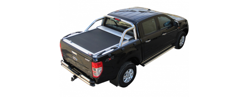 Couvre Benne Ford Ranger - Rideau Coulissant