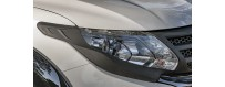 Fiat Fullback Headlights and Tailights Covers